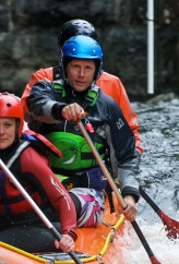 Spindryft rafting, the Tryweryn